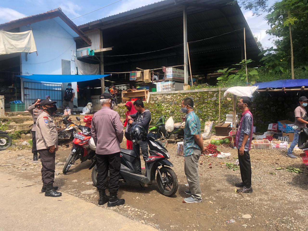 Tak Pernah Absen Tim Gugus Tugas Melakukan Operasi Yustisi di daerah Rawan Kerumunan