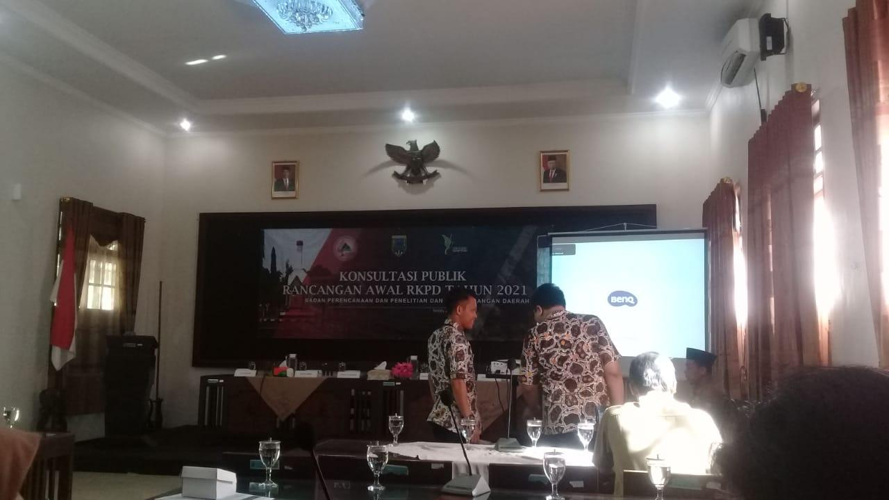 Rancangan awal RKPD Kabupaten Kebumen 2021