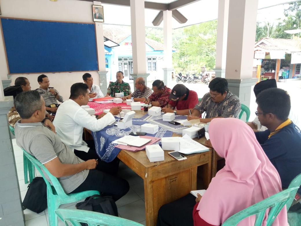 Sosialisasi Bantuan Sembako Kecamatan Sadang Tahun 2020